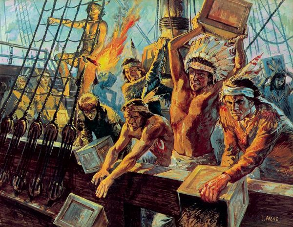 December 16, 1773  Boston Tea Party