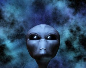 http://www.dreamstime.com/stock-photography-alien-portrait-stars-image14135012