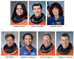 FILE NASA PORTRAIT OF COLUMBIA MISSION CREW