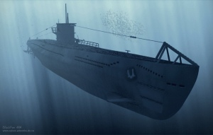 german_submarine_wwii_by_racoonart
