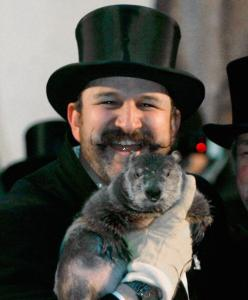 Groundhog Fans Gather In Punxsutawney For Winter Prediction
