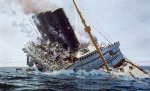 lusitania-sinking