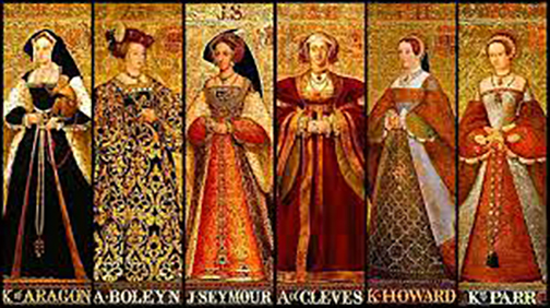 February 13, 1542 The Six Wives of Henry VIII
