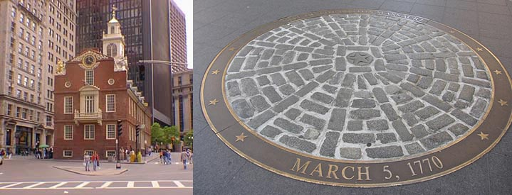 March 5, 1770 The BostonMassacre