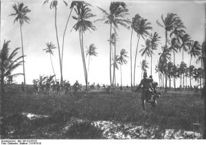 Deutsch-Ostafrika, Askari im Kampf