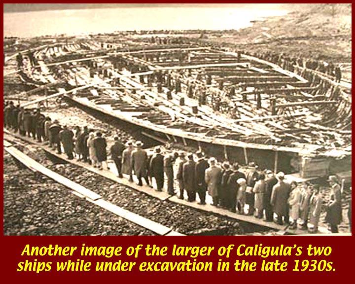 Caligula, Pleasure Barges