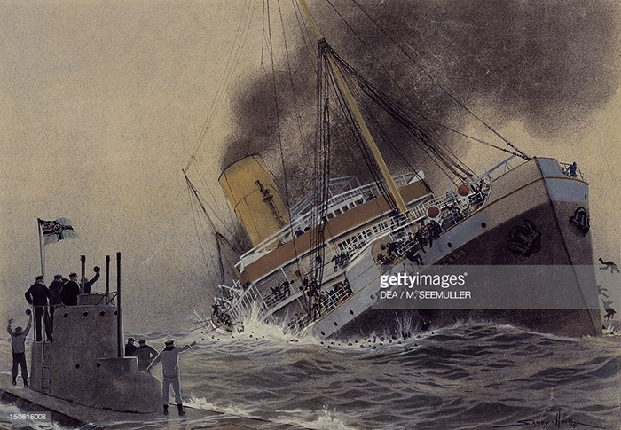 March 28, 1915 Thrasher Incident