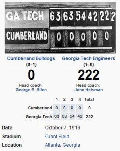 GA Tech v Cumberland