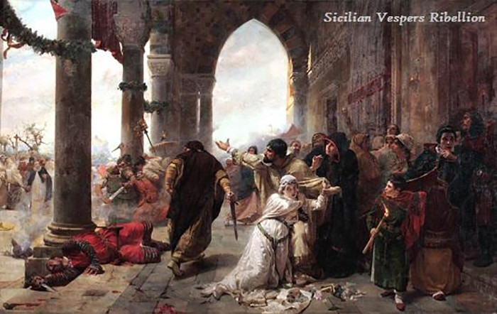 March 30, 1282 War of Sicilian Vespers