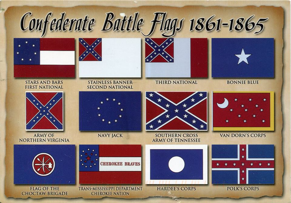 Image result for image of confederate battle flags 1863