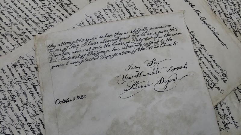 April 2, 1722 SilenceDogood