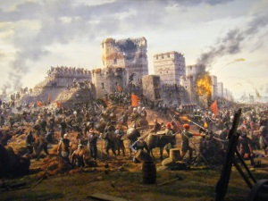 Fall of Constantinople, 1
