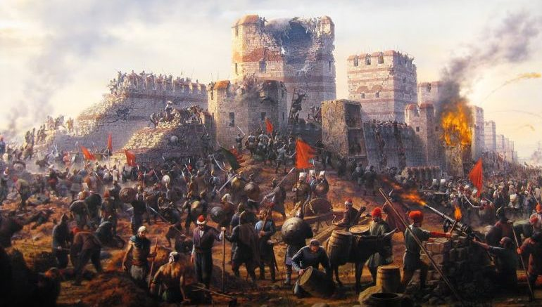 April 20, 1453 Fall ofConstantinople