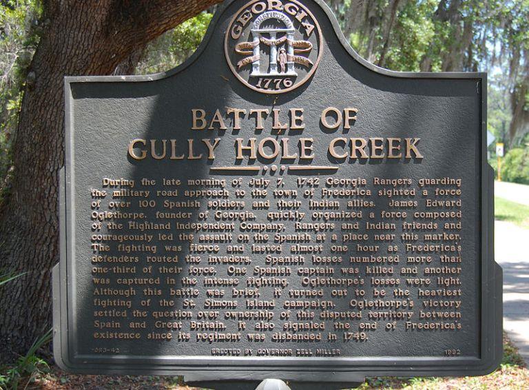 GullyHoleCreekSign