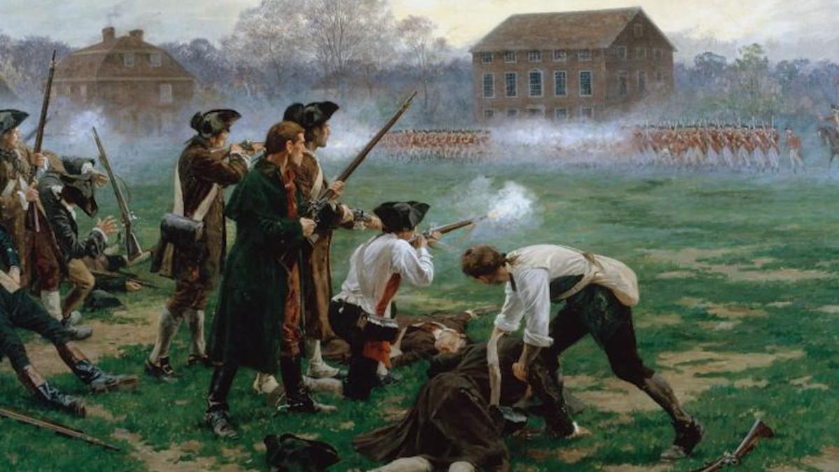 April 19, 1775 Shot Heard 'Round theWorld