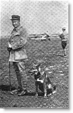 Captain_Georges_Thenault_and_Fram_1917