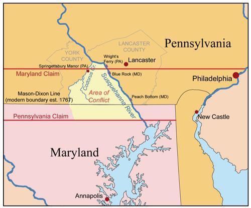Cresaps war map
