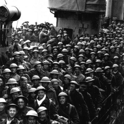 dunkirk troops, 1940