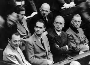 Hess at Nuremberg