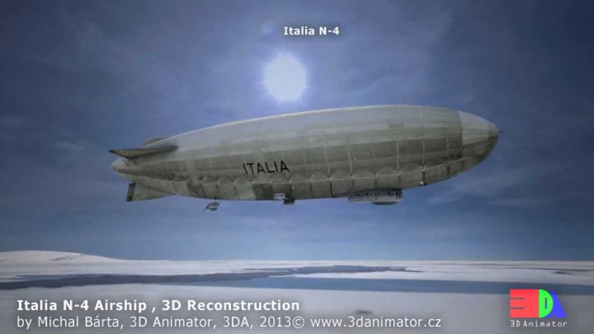 May 23 1928  Crash of the Airship Italia