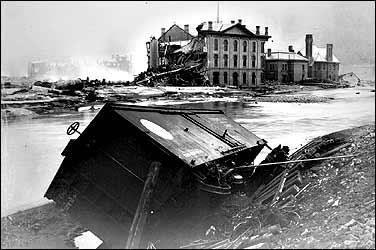 johnstown-flood, RR Car