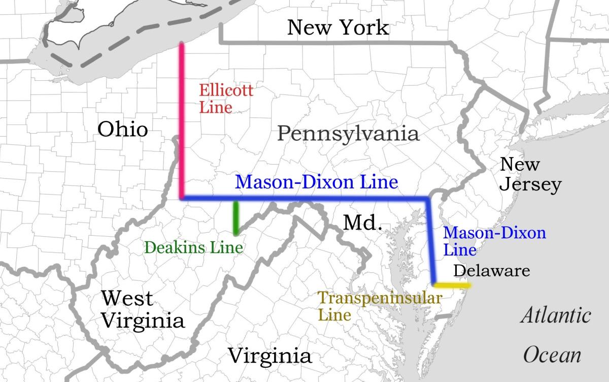 May 25, 1738 Mason DixonLine