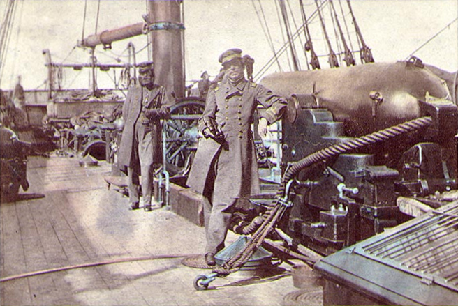 Captain_Raphael_Semmes_and_First_Lieutenant_John_Kell_aboard_CSS_Alabama_1863