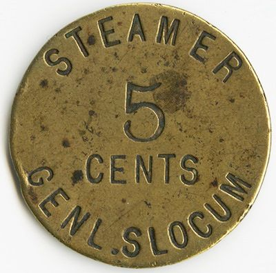 General Slocum token