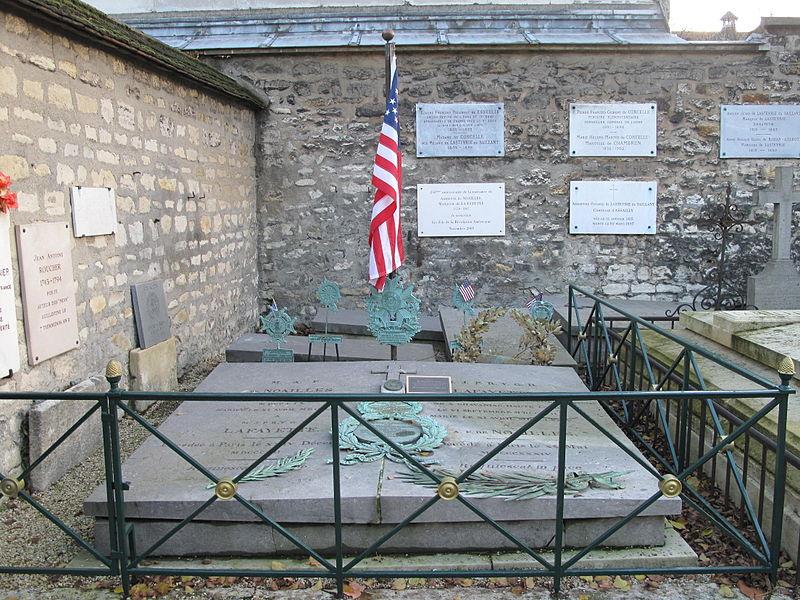 Lafayette-grave