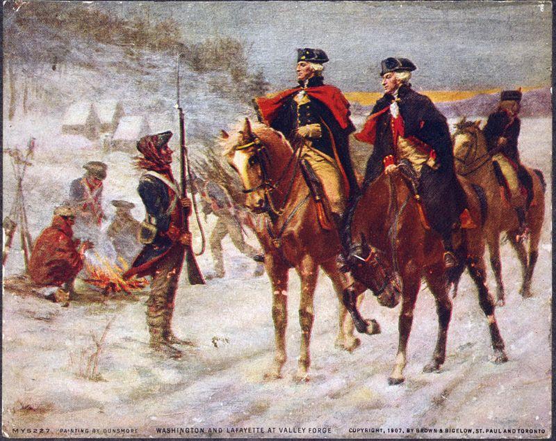 June 13, 1777 Marquis deLafayette