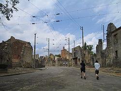 Oradour-sur-Glane-Streets