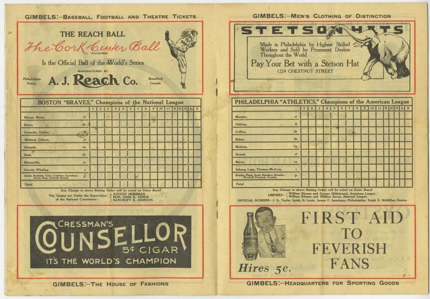 1914 WS card