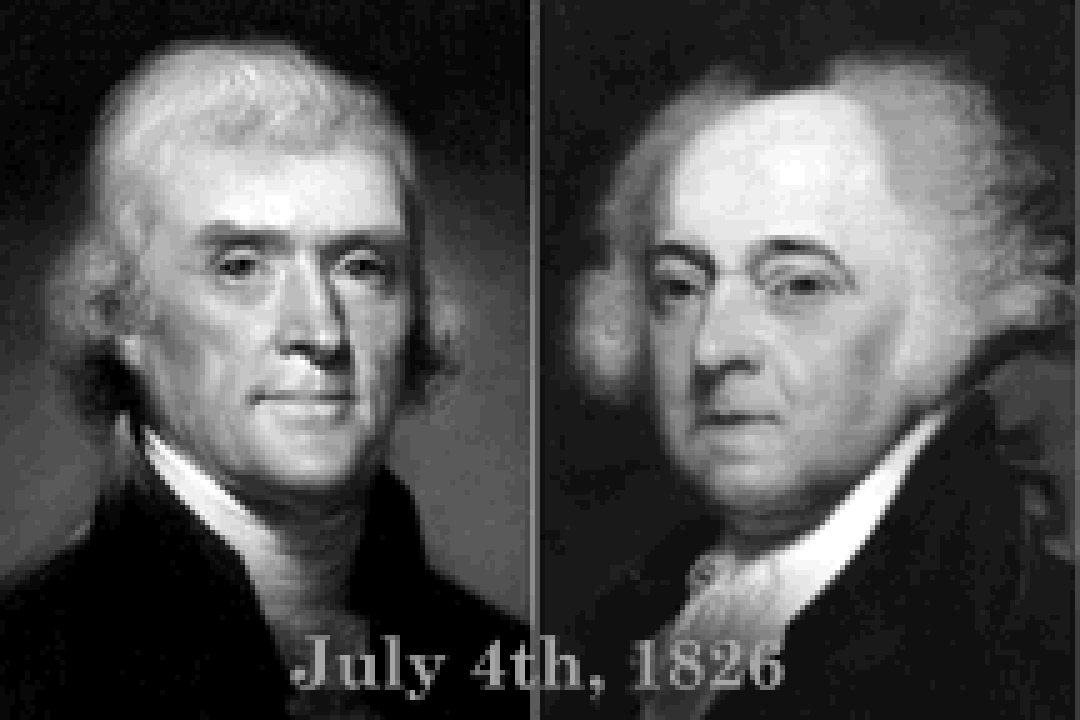 July 4, 1826 Founding Fathers