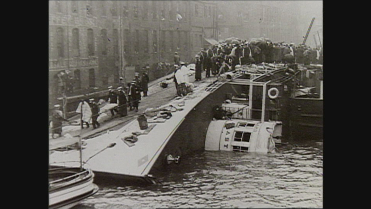 July 24, 1915 Shipwreck in Chicago