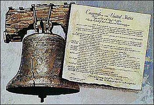 July 8, 1776 The Liberty Bell