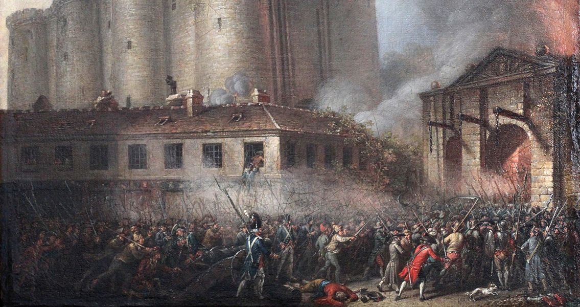 July 14, 1789 Storming the Bastille