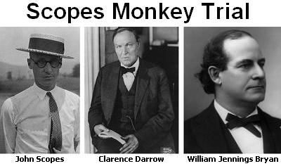July 21, 1925 Monkey Trial