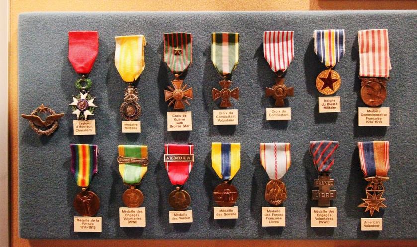 Bullard, medals