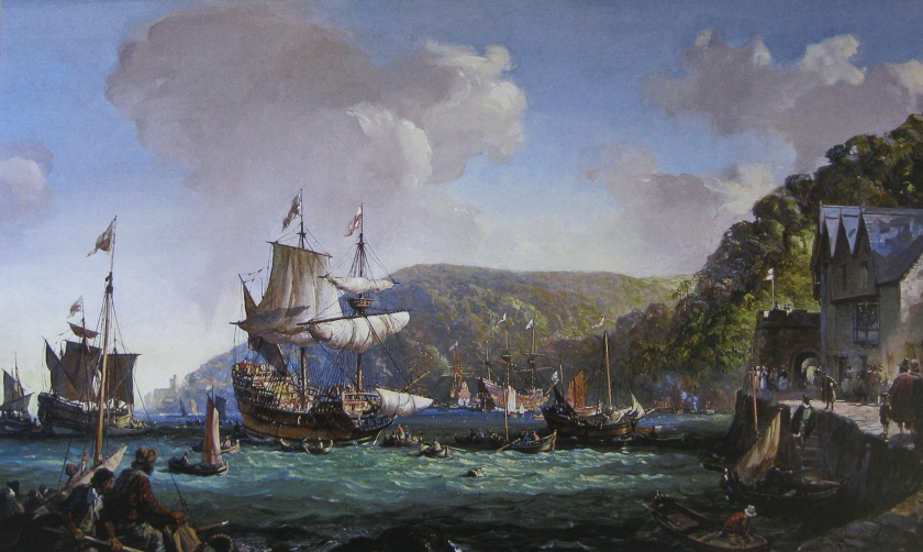 Mayflower and Speedwell in Dartmouth