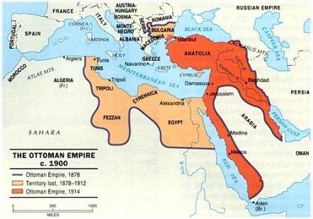 Ottoman Empire c1900