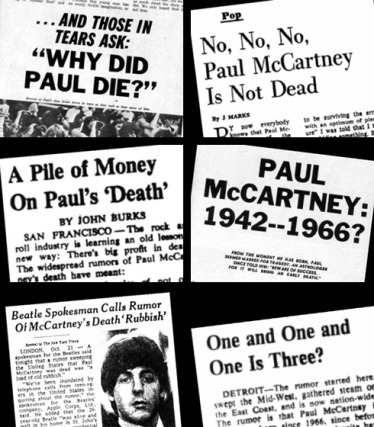 Paul is dead, news