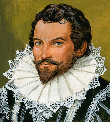 Sir Walter Raleigh (?)