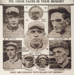 Eight Chicago Black Sox