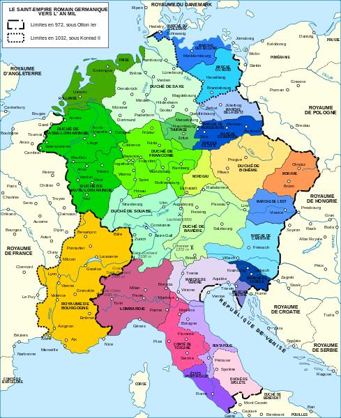 Holy Roman Empire, 972-1000