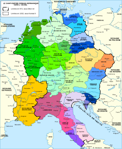 Holy Roman Empire, 972-1000