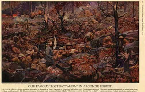 October 4, 1918 The Lost Battalion