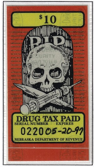 Nebraska, $10 Tax Stamp on Illegal Drugs