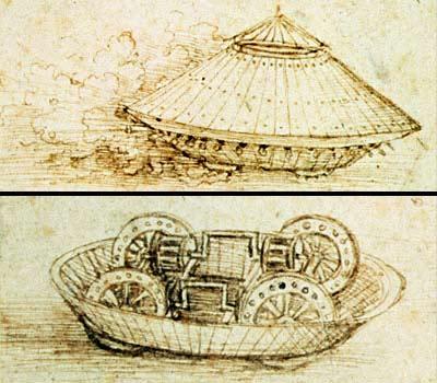 Tank - leonardo-da-vincis-tank-invention