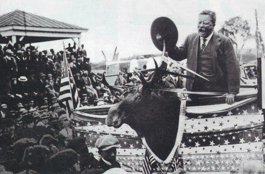 October 14, 1912 Can't Stop a BullMoose