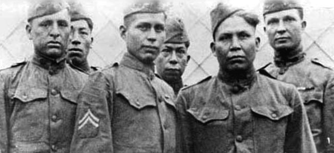 October 26, 1918  Choctaw Code Talkers